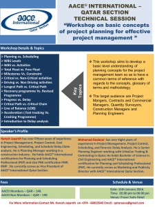 Flyer-Basic Concepts of Project Planning
