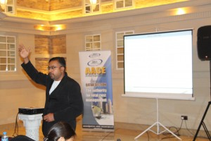 Mr. Haresh Jayanth Presenting During the Workshop on Basic Concepts of Project Planning for effective Project Management