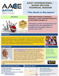 180321 The Detail in Disruption
